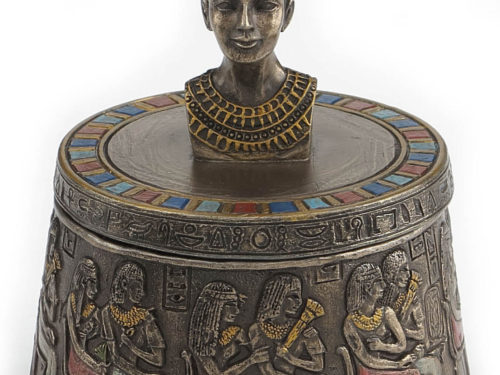 Bust of Nefertiti Jewelry Box