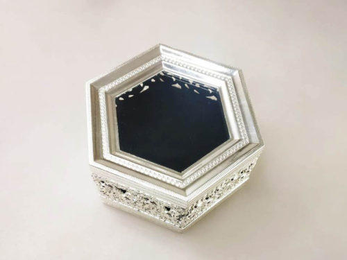 hexagonal_silver_box