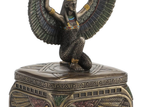 Isis Egyptian Goddess Jewelry Box