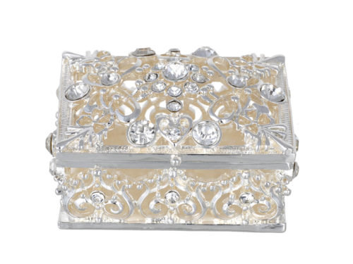 Rectangle Cutwork Jewelry Box