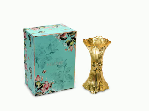 Classic Gold Flower Vase-small