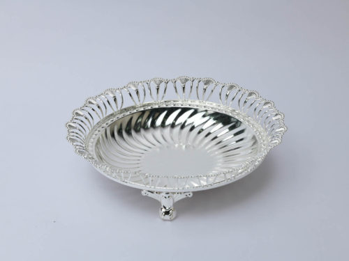 Round Wire Silver Bowl,Size-Medium