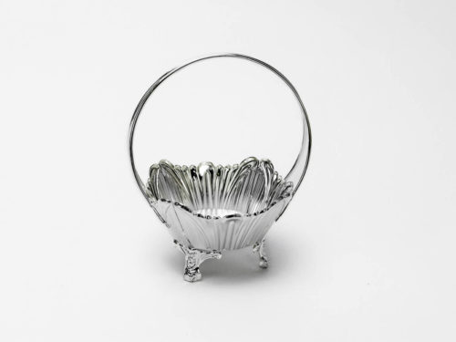 Silver Basket with Handle