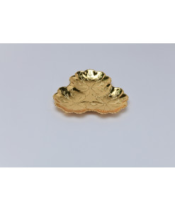 Three Sided Gold Platter