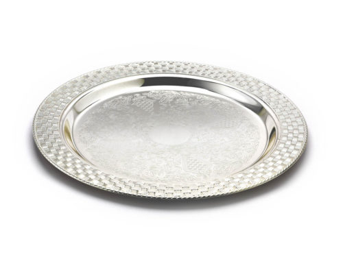 round_carved_silver_plate