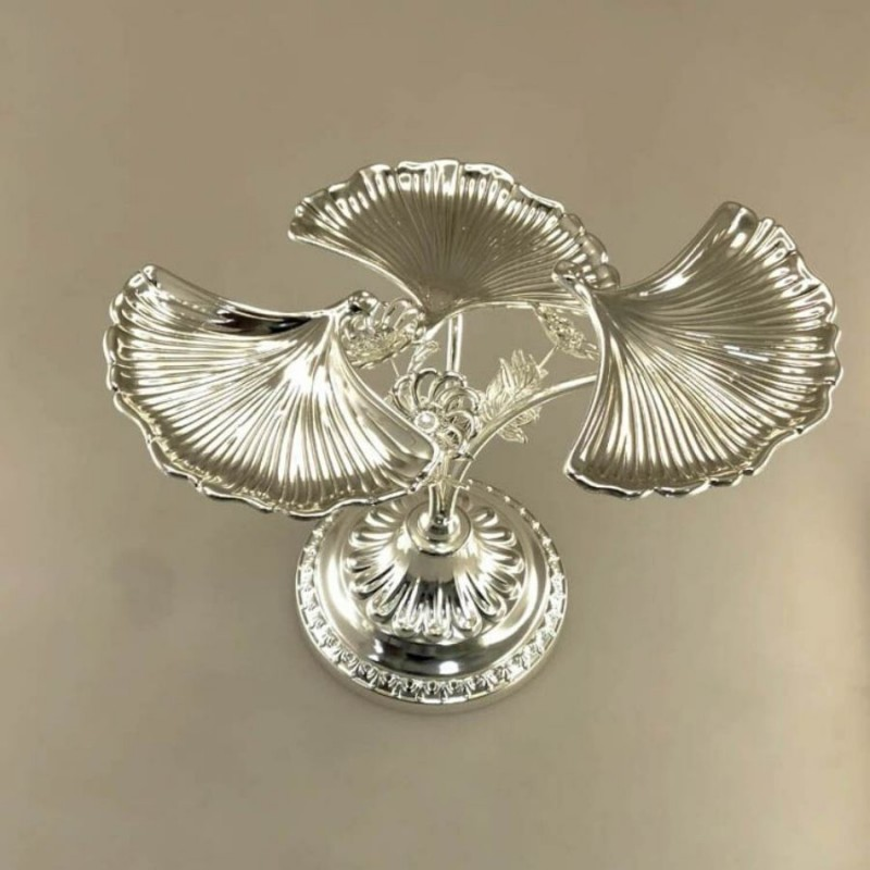 3-in-1-shell-design-silver-platter-centerpiece