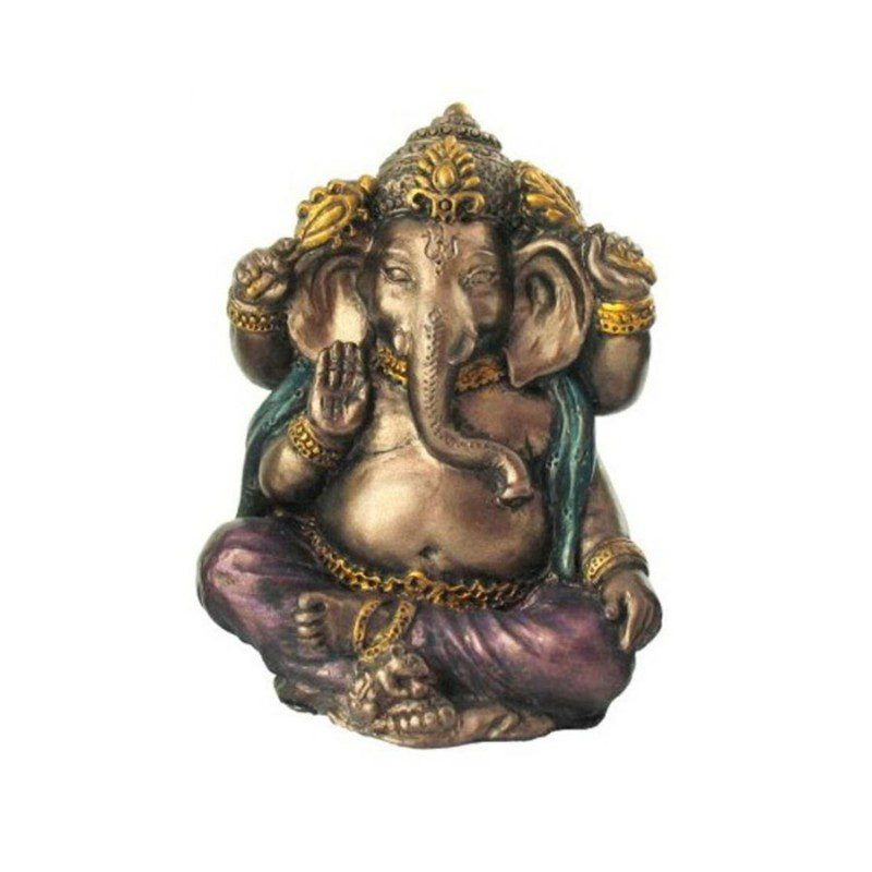 Copper Finish Lord Ganesha Idol, Color- Copper, Size- Small
