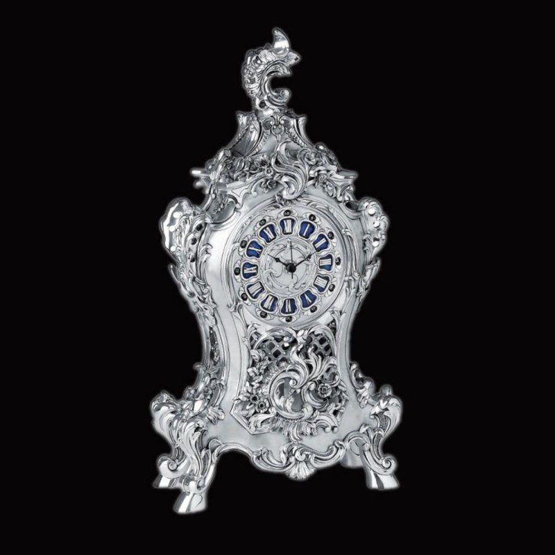 exceptional-english-vintage-silver-clock