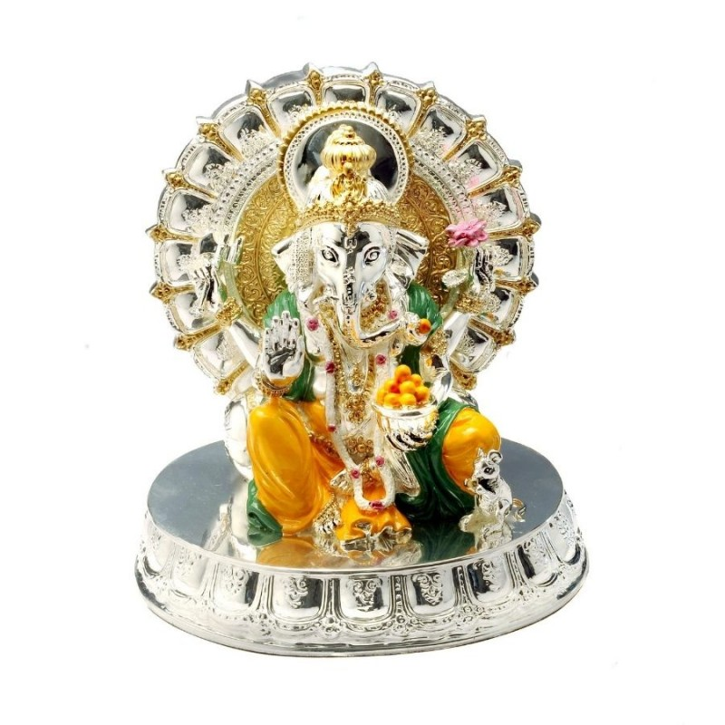 ganesh idols online for ganesh chaturthi, ganesh idols for ganesh chaturthi, ganesh idols for home decor, Silver Ganesha Idol, Ganesha, best ganesh idols, beautiful ganesh murti, big ganesh murti, best ganpati murti, big ganesh statue for home, buy ganesh murti online